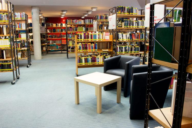Verweilen und entspannen in der Stadtbücherei Alsdorf