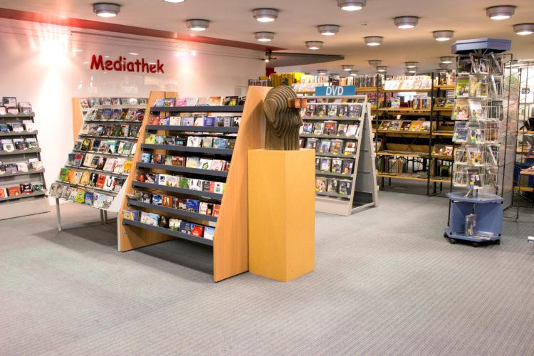 Die neue Mediathek der Stadtbücherei Alsdorf